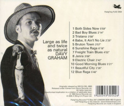 DAVEY GRAHAM/Large As Life & Twice As Natural (1968/4th) (デイヴィ・グレアム/UK)