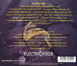 ELECTRIC FOOD/Same + Flash (1970+71/1+2th) (エレクトリック・フード/German)